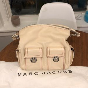 Marc Jacobs Off-White Leather Bag